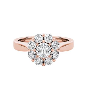 The Diamond Story 18ct Rose Gold 1ct Diamond Ring - Product number 5018145