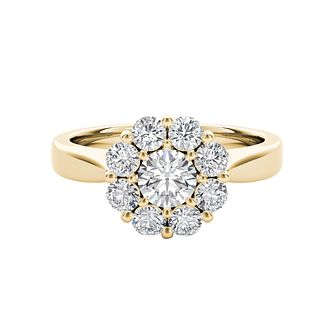 The Diamond Story 18ct Yellow Gold 1ct Total Diamond Ring - Product number 5018285