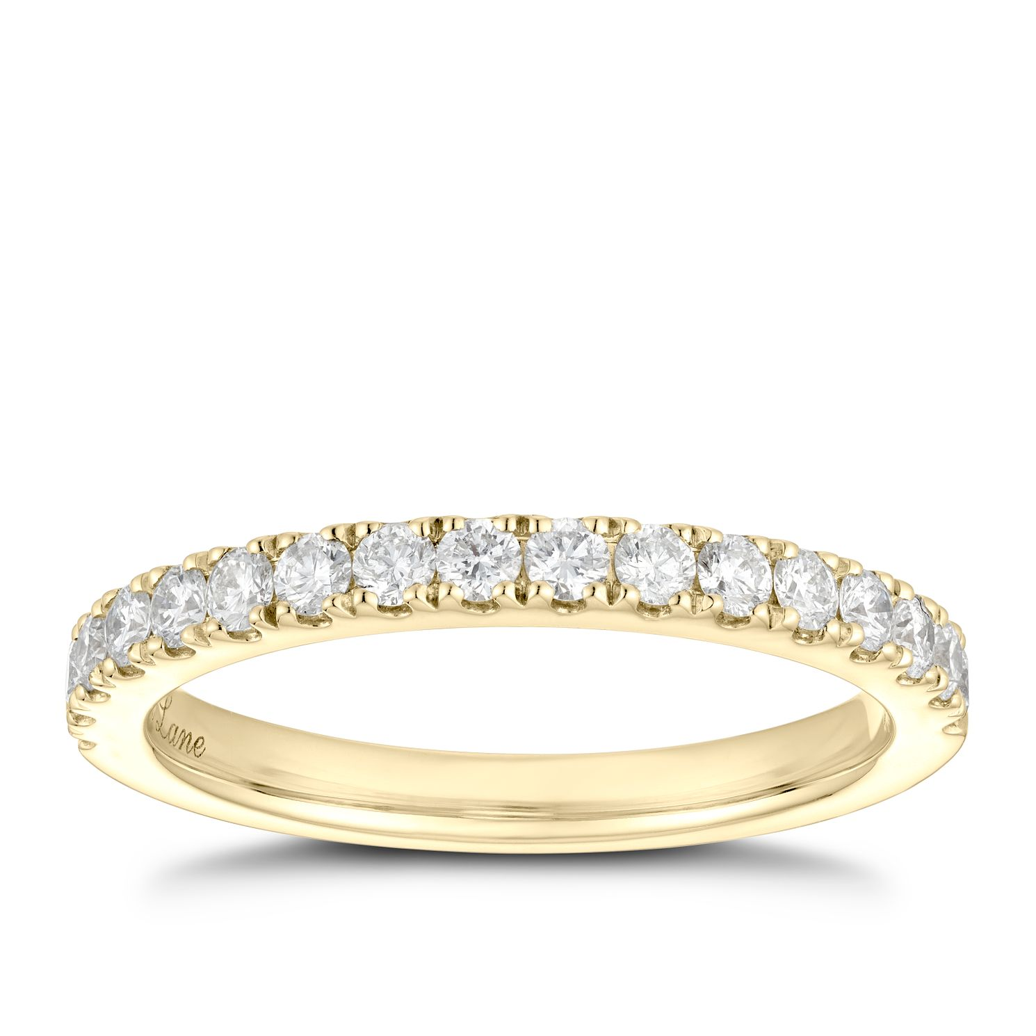 Neil Lane 14ct Yellow Gold 0.42ct Diamond Wedding Ring - Product number 5023629