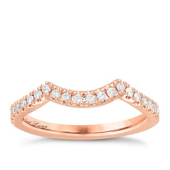Neil Lane 14ct Rose Gold 1/5ct Wedding Band Band - Product number 5027276