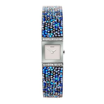 Seksy Rocks Blue Swarovski Crystal Bracelet Watch - Product number 5028299