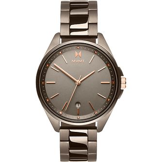 MVMT Moonliner Ladies' Fawn IP Steel Bracelet Watch - Product number 5028531