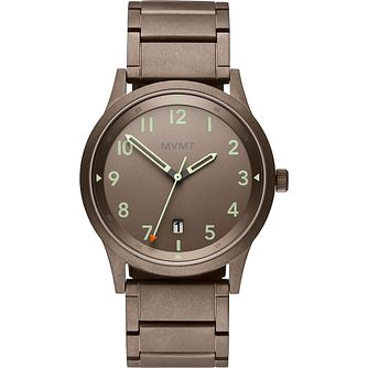 MVMP GTS AT Men's Taupe IP Steel Bracelet Watch - Product number 5028590