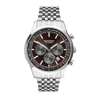 Sekonda Men's Stainless Steel Bracelet Watch - Product number 5028698