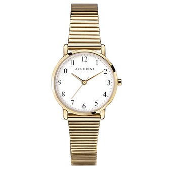Accurist Gold Tone Bracelet Watch - Product number 5029996