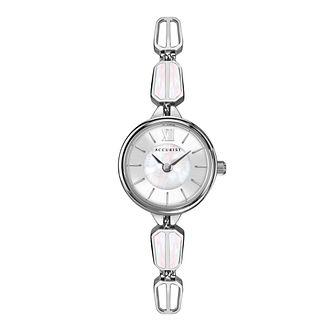 Accurist Ladies' Silver Tone Bracelet Watch - Product number 5030005
