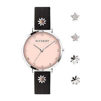 Accurist Contemporary Ladies' Watch & Charms Gift Set - Product number 5030064