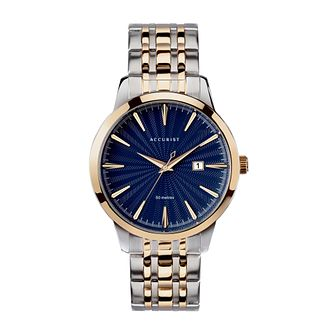 Accurist Classic Men's Two Tone Bracelet Watch - Product number 5030218