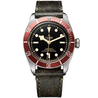 Tudor Black Bay Men's Stainless Steel Strap Watch - Product number 5031125
