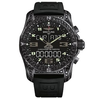 Breitling Professional Cockpit B50 Men's Black Strap Watch - Product number 5039193