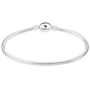 Chamilia Sterling Silver Oval Snap Bracelet 6.7 Inch - Product number 5042631