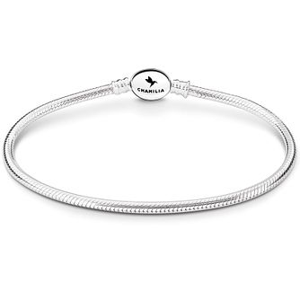 Chamilia Sterling Silver Oval Snap Bracelet 7.9 Inch - Product number 5042771