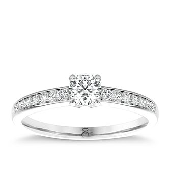 The Diamond Story Platinum 2/3ct Diamond Ring - Product number 5045452