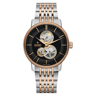 Rado Coupole Classic Open Heart Two Tone Bracelet Watch - Product number 5055849