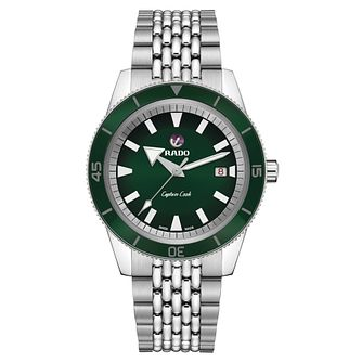 Rado Captain Cook Men's Stainless Steel Bracelet Watch - Product number 5055865