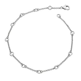 Lucy Quartermaine Silver 925 Circle Anklet - Product number 5056616
