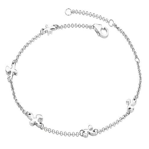 Lucy Quartermaine Silver 925 Splash Anklet - Product number 5056624