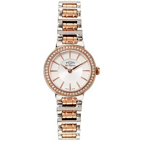 Rotary Les Originales Ladies' 2 Colour Steel Bracelet Watch - Product number 5057116