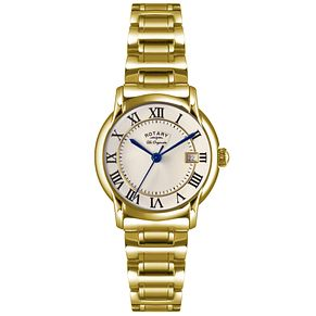 Rotary Les Originales Ladies' Gold-Plated Bracelet Watch - Product number 5057221