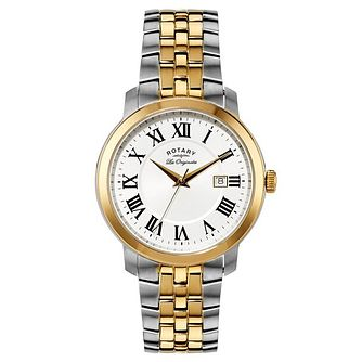 Rotary Ladies' Two Tone Titanium Bracelet Watch - Product number 5057566