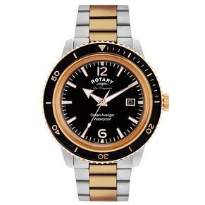 Rotary Ocean Avenger Men's Stainless Steel Bracelet Watch - Product number 5057604