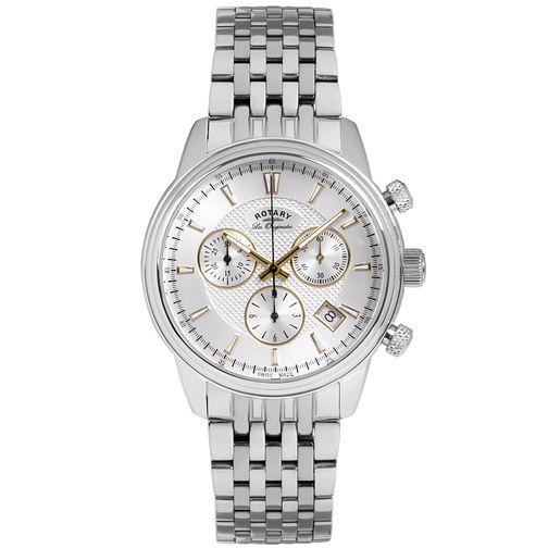 Rotary Les Originales Men's Stainless Steel Bracelet Watch - Product number 5057663