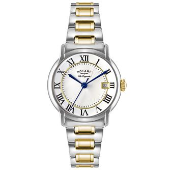 Rotary Les Originales Men's 2 Colour Steel Bracelet Watch - Product number 5057736