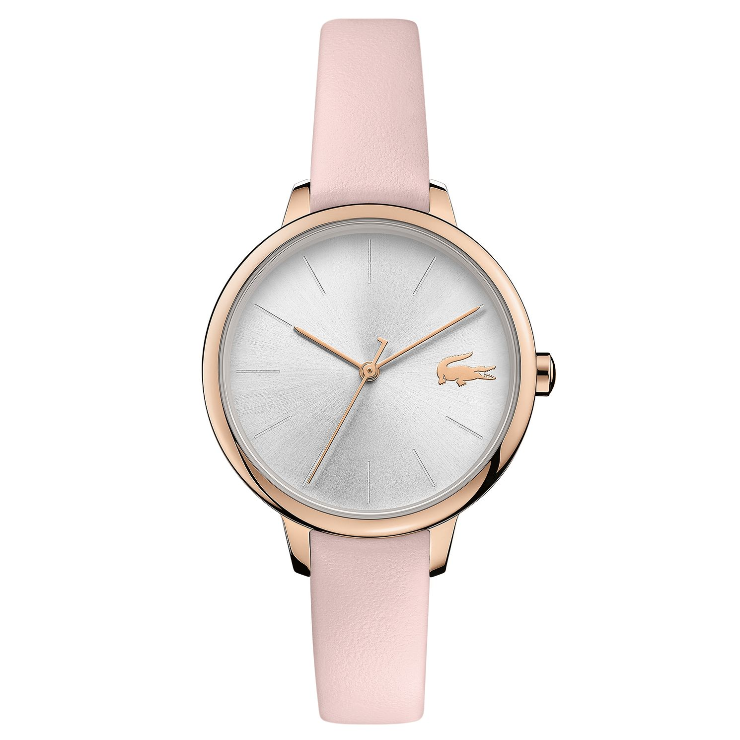 Lacoste Cannes Ladies' Pink Leather Strap Watch - Product number 5058333