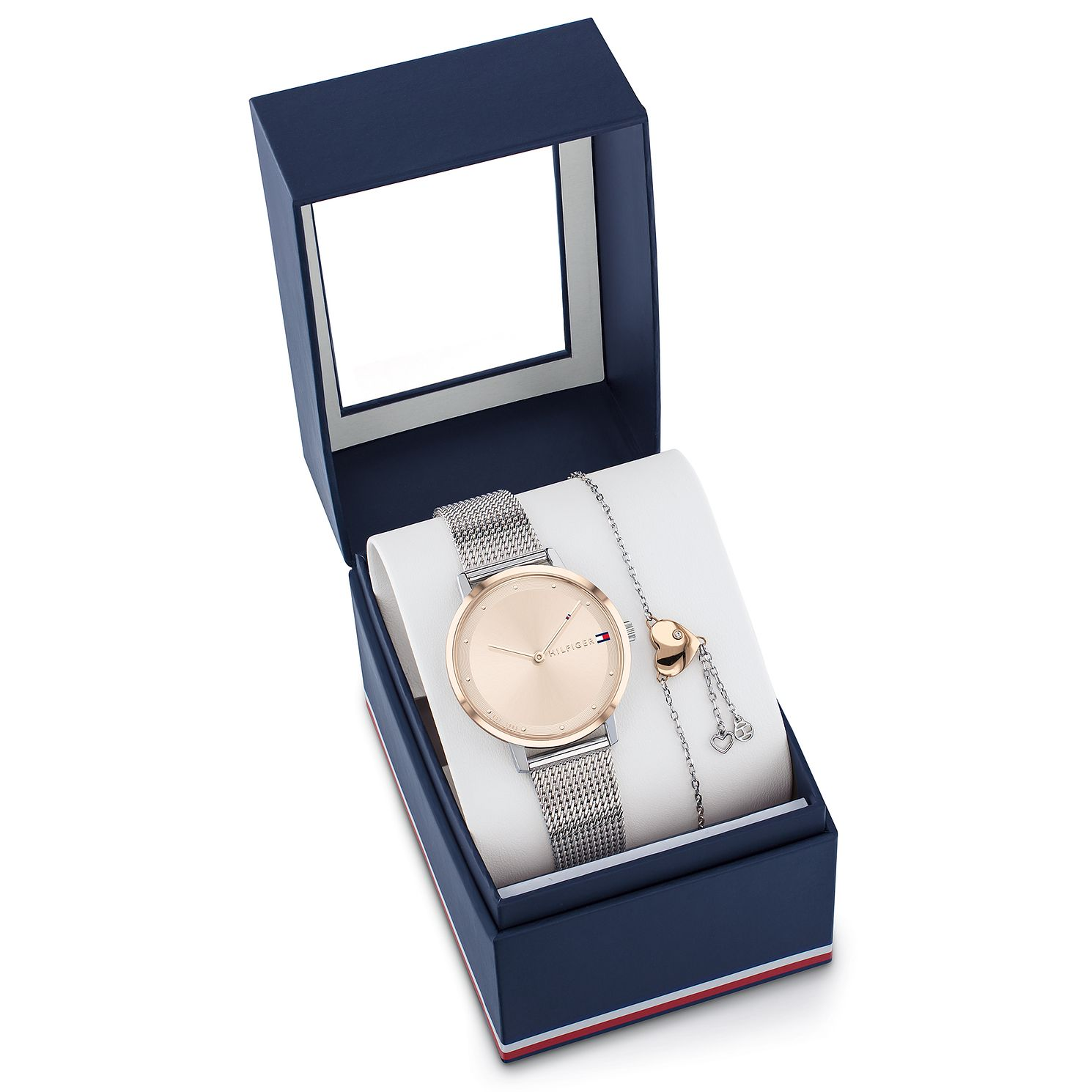 Tommy Hilfiger Ladies' Two-Tone Watch & Bracelet Gift Set - Product number 5058481