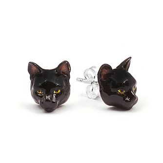 Cat Fever European Tiger Muzzle Stud Earrings - Product number 5059291