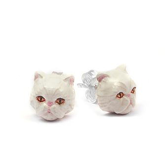 Cat Fever Persian Muzzle Stud Earrings - Product number 5059372