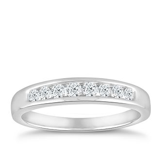 18ct White Gold 1/4ct Diamond Eternity Ring - Product number 5059631
