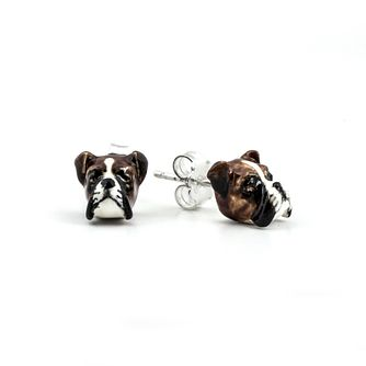 Dog Fever Boxer Muzzle Stud Earrings - Product number 5063191