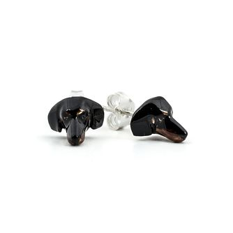 Dog Fever Dachshund Muzzle Stud Earrings - Product number 5063310