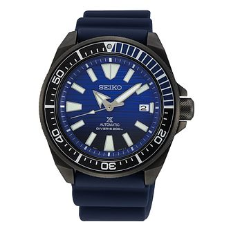 Seiko Prospex Men's Blue Silicone Strap Watch - Product number 5071410