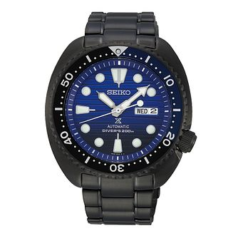 Seiko Prospex Men's Blue Ip Bracelet Watch - Product number 5071429