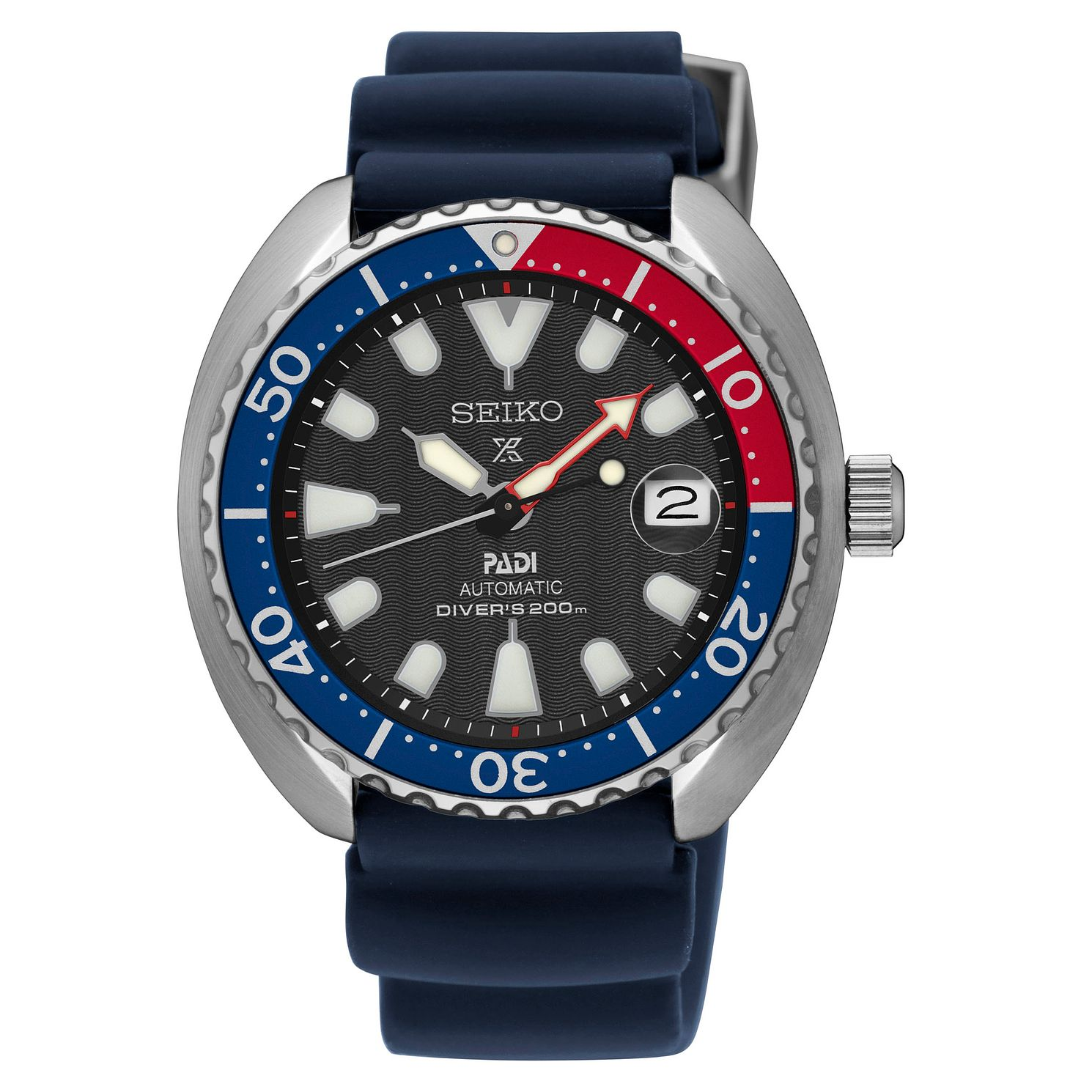 Seiko Prospex PADI Men's Blue Silicone Strap Watch - Product number 5071534