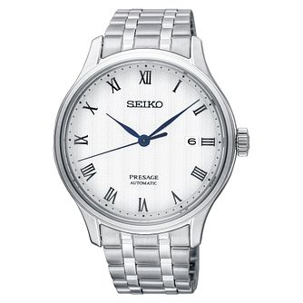 Seiko Presage Men's Stainless Steel Bracelet Watch - Product number 5071550