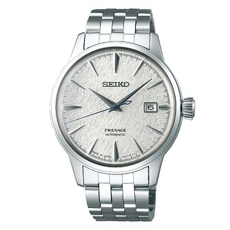 Seiko Presage Limited Edition Stainless Steel Bracelet Watch - Product number 5071585