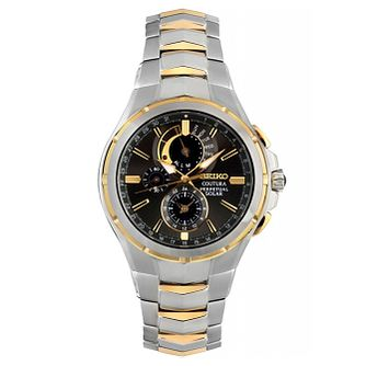Seiko Coutura Men's Two Tone Bracelet Watch - Product number 5071615