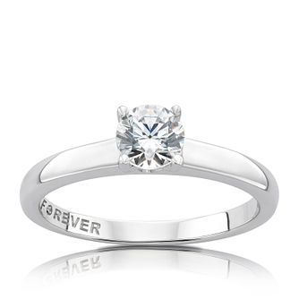 The Forever Diamond White Gold 0.50ct Ring - Product number 5072468