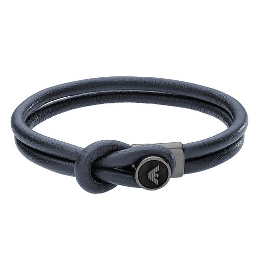 Emporio Armani Men's Leather Bracelet - Product number 5074789