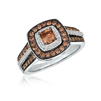 Le Vian 14ct Vanilla Gold 0.95ct Chocolate Diamond Ring - Product number 5078733
