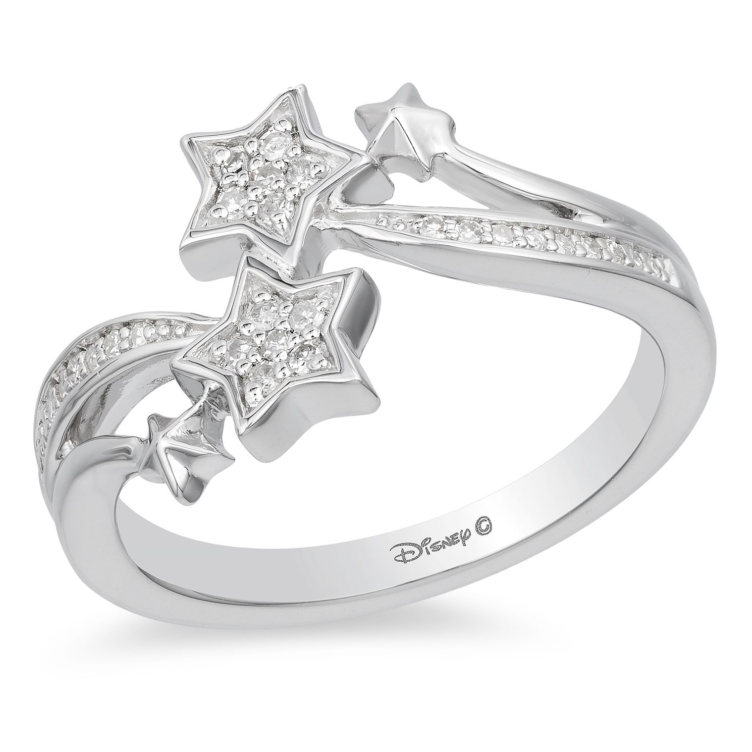 Enchanted Disney Fine Jewelry Diamond Tinker Bell Ring - Product number 5080541