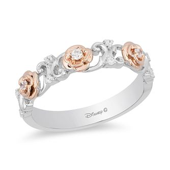 Enchanted Disney Fine Jewelry Diamond Belle Eternity Ring - Product number 5082730