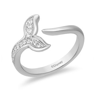 Enchanted Disney Fine Jewelry Diamond Ariel Tail Ring - Product number 5084326