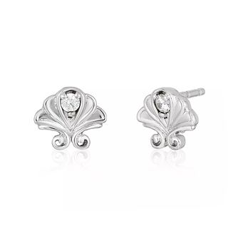 Enchanted Disney Fine Jewelry Diamond Ariel Stud Earrings - Product number 5084628