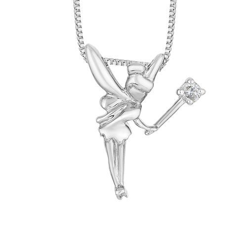 Enchanted Disney Fine Jewelry Diamond Tinker Bell Pendant - Product number 5084725