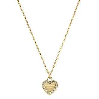 Michael Kors Gold Tone Stone Set Necklace - Product number 5084814