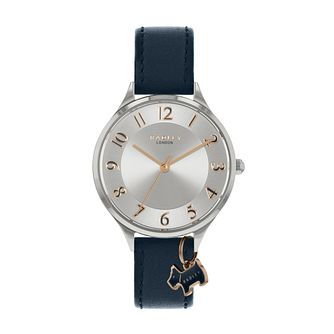 Radley Saxon Ladies' Dark Blue Leather Strap Watch - Product number 5085713